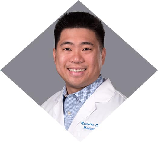 Michael Do, OD is an optometrist at the Marietta Eye Clinic.