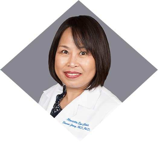Shunai Jiang, MD is an ophthalmologist at the Marietta Eye Clinic.