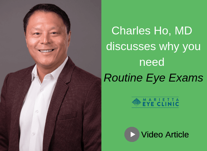 Charles Ho, MD helps you understand why eye exams are vital to your overall health.