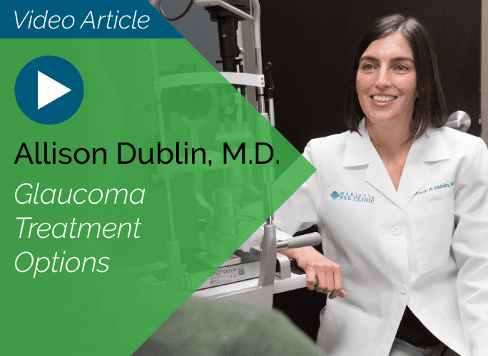 Dr. Allison Dublin is a comprehensive ophthalmologist at the Marietta Eye Clinic who also specializes in cataracts and glaucoma.