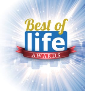 The Marietta Eye Clinic won the best of life award in Canton.