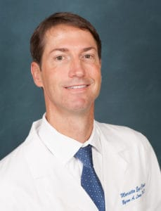 Byron Long, MD provides eye surgery services at the Marietta Eye Clinic.