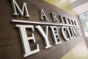 The Marietta Eye Clinic offers several payment options including Care Credit.