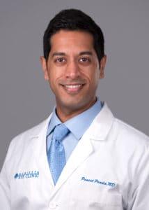 Puneet Panda, MD provides cataract surgery services at the Marietta Eye Clinic.