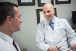 Andre Cohen, MD provides Lasik surgery at the Marietta Eye Clinic.