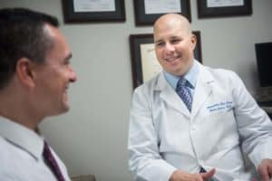Andre Cohen, MD provides Lasik technology at the Marietta Eye Clinic.