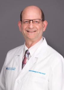 Louis Schlesinger, OD provides keratoconus treatment services at the Marietta Eye Clinic.