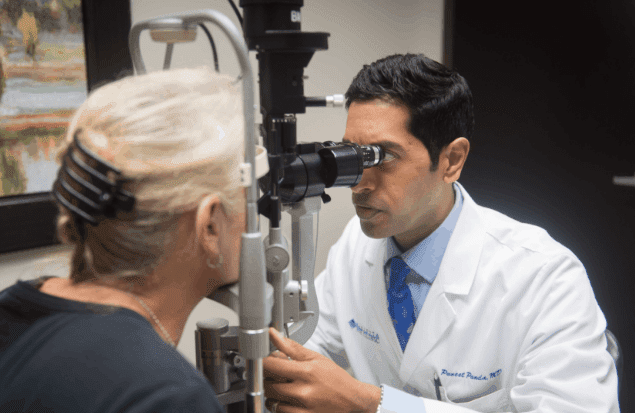 Puneet Panda, MD provides dry eye services at the Marietta Eye Clinic.