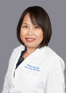 Shunai Jiang, MD provides cataract surgery services at the Marietta Eye Clinic.