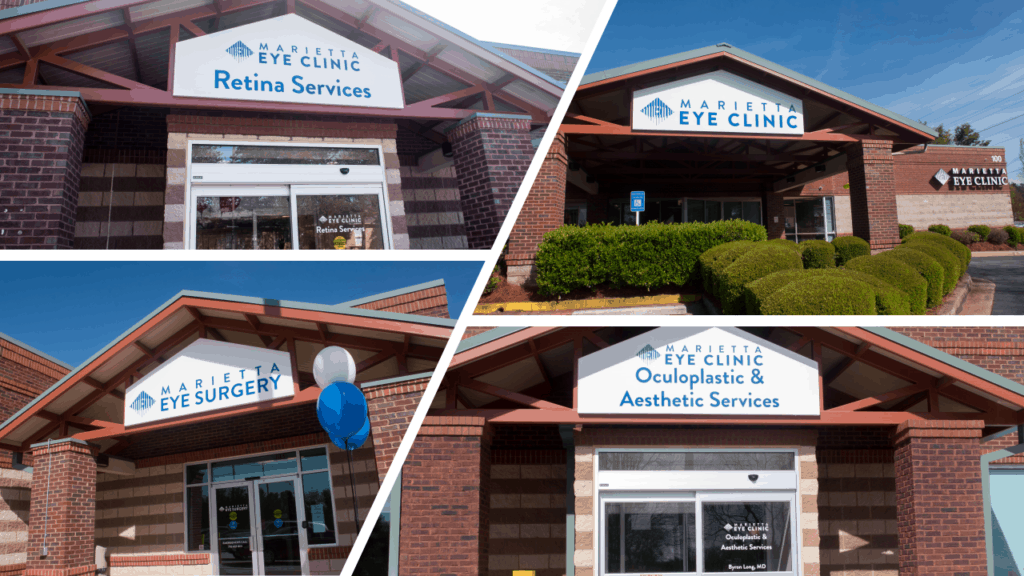 The Marietta Eye Clinic provides comprehensive ophthalmology and optometry services.