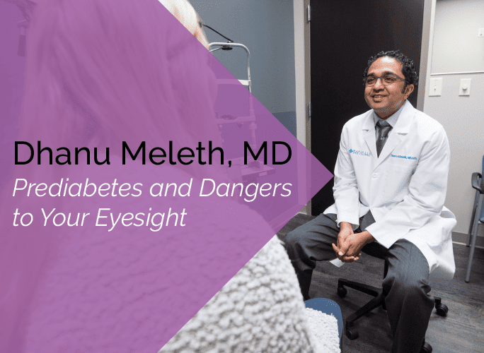 Dhanu Meleth, MD is an ophthalmologist and retina specialist at the Marietta Eye Clinic.