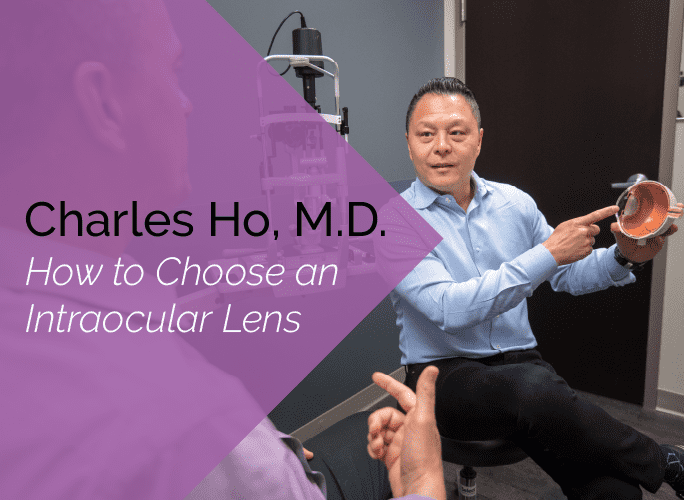 Dr. Ho is an ophthalmologist and cataract specialist at the Marietta Eye Clinic.