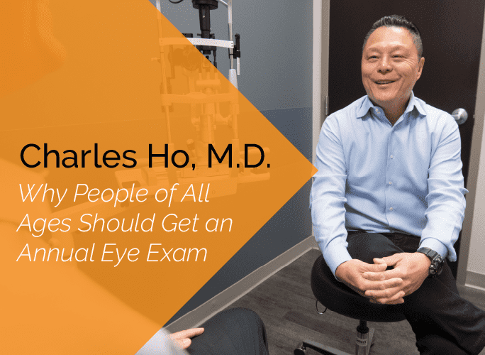 Charles Ho, M.D. is an ophthalmologist and cataract, pediatric, and adult strabismus specialist at the Marietta Eye Clinic.