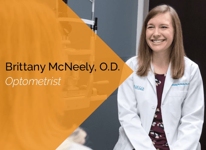Dr. McNeely is an optometrist with the Marietta Eye Clinic who specializes in ocular disease and ocular surgery co-management.