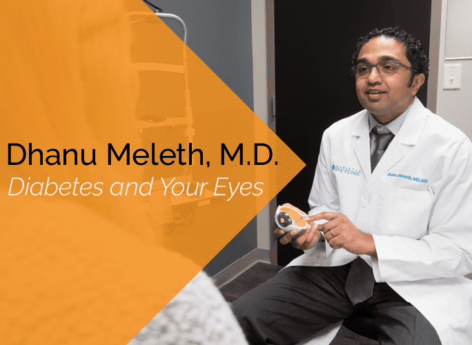Dhanu Meleth MD is an ophthalmologist and retina specialist at the Marietta Eye Clinic.