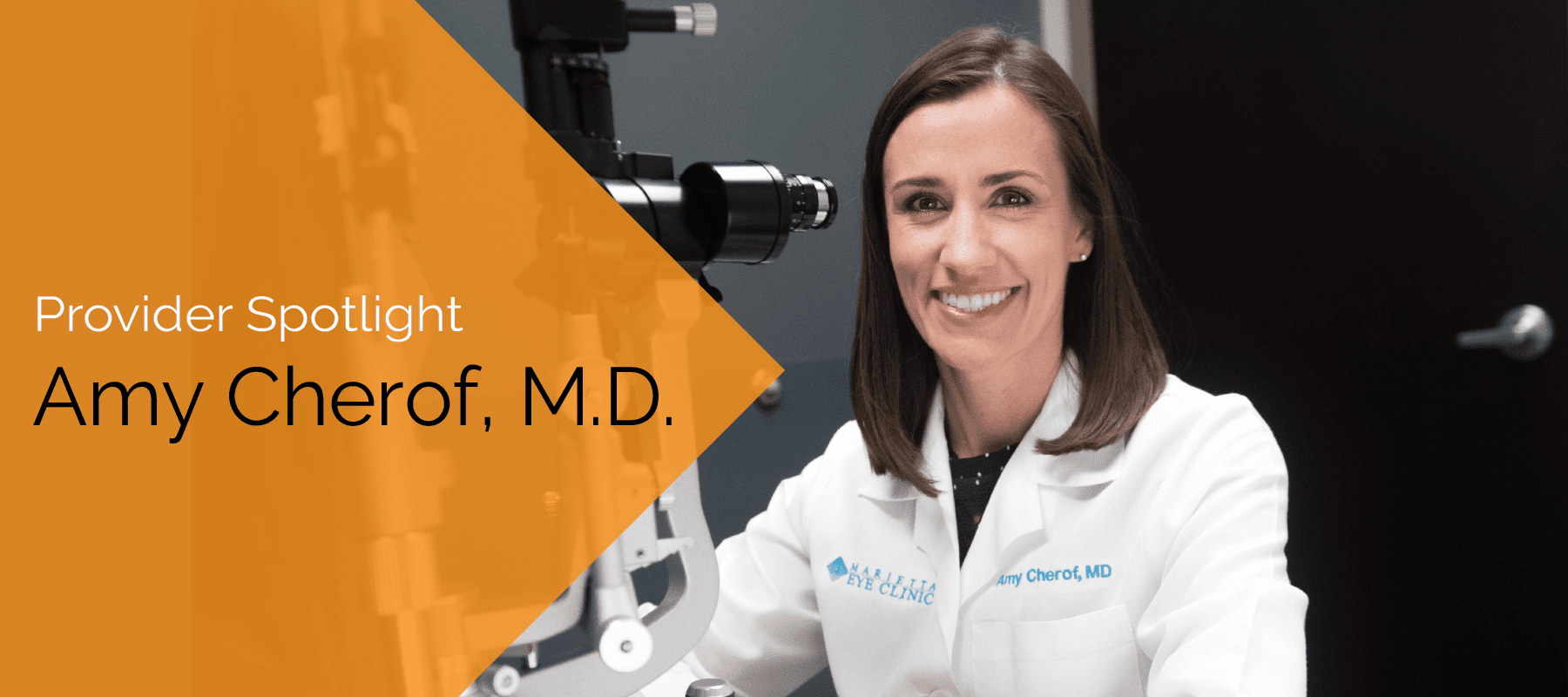 Dr. Cherof is an ophthalmologist and cataract surgeon at the Marietta Eye Clinic.