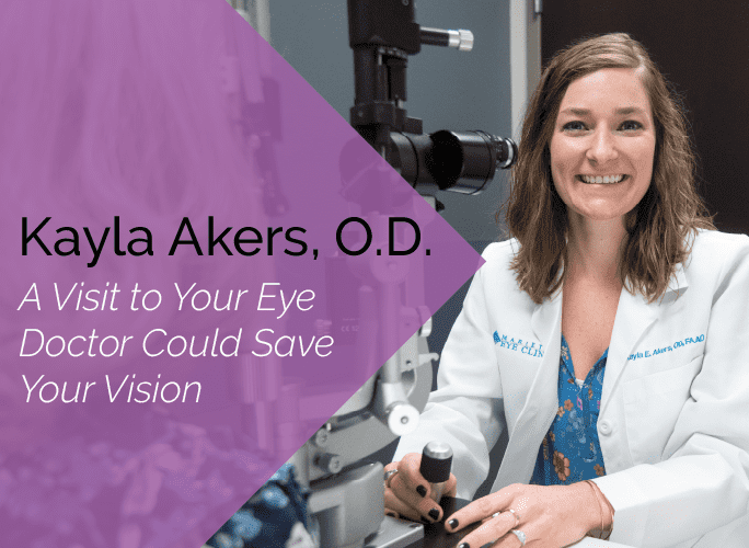 Dr. Akers is an optometrist and ocular disease specialist at the Marietta Eye Clinic.