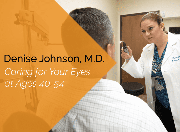Dr. Johnson is an ophthalmologist, dry eye specialist, cosmetic specialist and cataract specialist at the Marietta Eye Clinic.