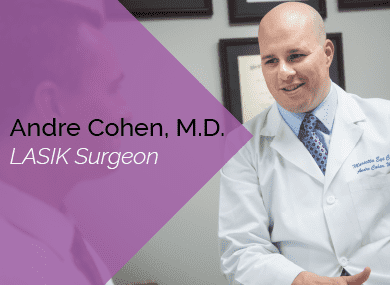Dr. Cohen is an ophthalmologist and LASIK surgeon at the Marietta Eye Clinic.