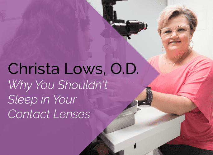 Dr. Lows is a primary care optometrist and ocular disease specialist at the Marietta Eye Clinic who also provides ocular surgery co-management.