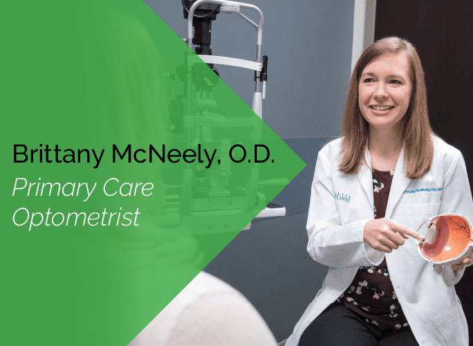 Dr. McNeely is a primary care optometrist with the Marietta Eye Clinic who specializes in ocular disease and provides ocular surgery co-management.