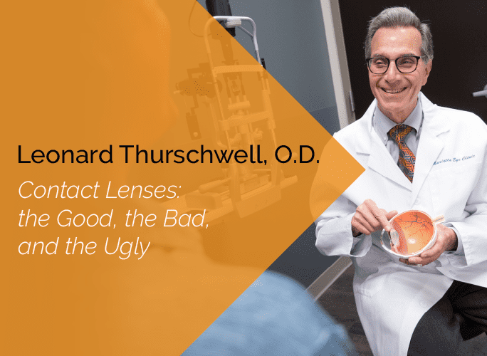 Dr. Thurschwell is a primary care optometrist who specializes in ocular disease and provides ocular surgery co-management.