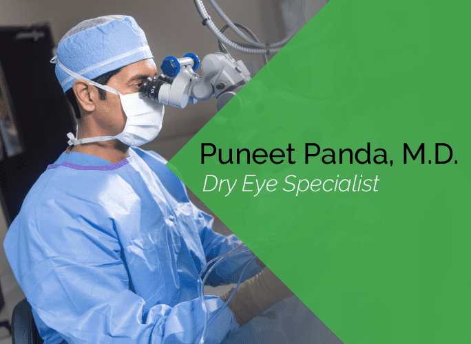 Dr. Puneet Panda is a comprehensive ophthalmologist at the Marietta Eye Clinic who specializes in cataract surgery, dry eye, cornea, and LASIK and refractive surgery.