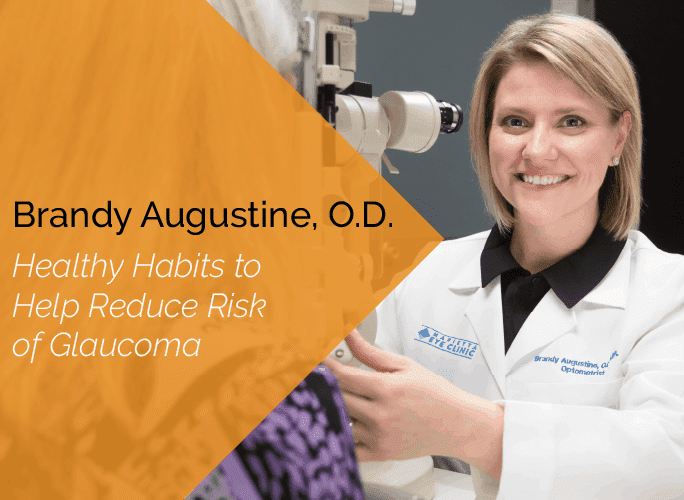 Dr. Augustine, O.D. is a primary care optometrist with the Marietta Eye Clinic who specializes in ocular disease and provides ocular surgery co-management.