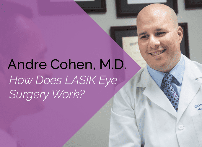 Dr. Andre Cohen is an ophthalmologist at the Marietta Eye Clinic who specializes in cataracts, cornea, and LASIK and refractive surgery.
