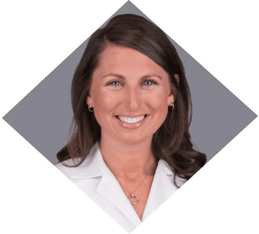 Dr. Courtney Cape is a primary care optometrist at the Marietta Eye Clinic who also provides ocular disease care and ocular surgery co-management.