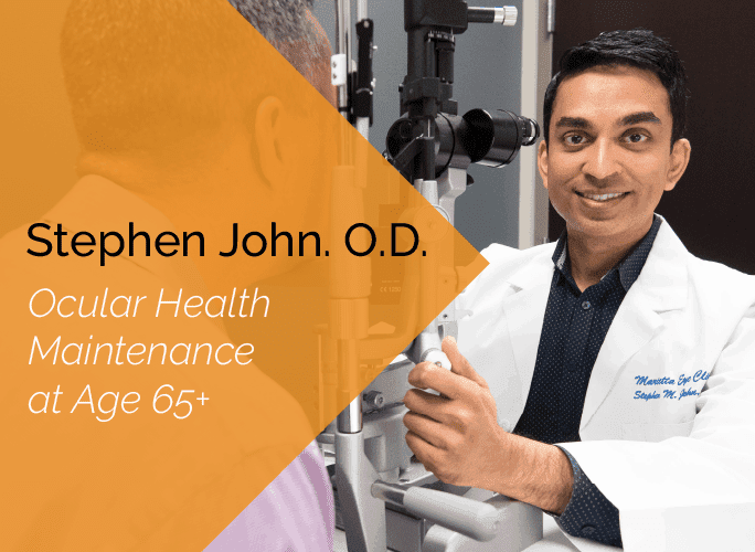 Dr. Stephen John is a primary care optometrist who provides ocular disease care and ocular surgery co-management at the Marietta Eye Clinic.