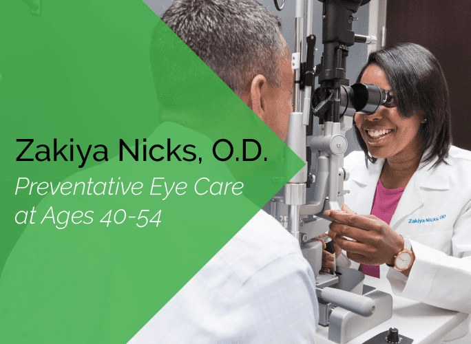 Dr. Zakiya Nicks is a primary care optometrist at the Marietta Eye Clinic who also provides ocular disease care and ocular surgery co-management.
